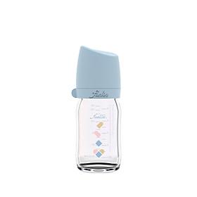 Bình Sữa Thủy Tinh Heart Dove - Xanh Cổ Điển - 160ML