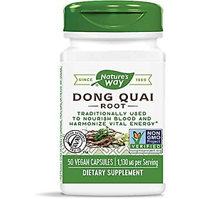Nature's Way Dong Quai Root, 1,130 mg per serving, 50 Capsules