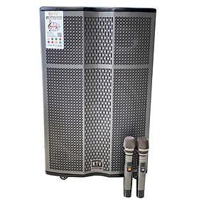 Loa kẹo kéo karaoke bluetooth KTV GD 15-37 - Hàng chính hãng