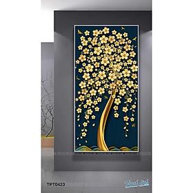Tranh Canvas Cây Kim Tiền Tài Lộc - Tranh Linh