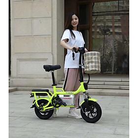 Xe điện mẹ con mini A1 siêu cute