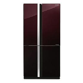 Tủ Lạnh Inverter Sharp Sj-Fx688vg-Rd (605l) - Hàng Chính Hãng + Tặng Bình Đun Siêu Tốc