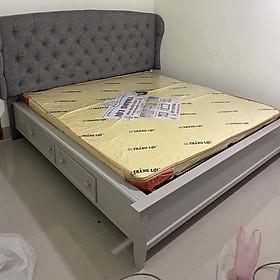 Giường ngủ hộc kéo gỗ thông minh
