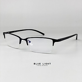 Kính Trắng Chống Ánh Sáng Xanh, Chống Xước, Chống Tia UV400, Chống Lóa,Chống Mỏi Mắt Từ Máy Tính, Điện Thoại Gọng Nhựa Dẻo Thanh Lịch - BLUE LIGHT SHOP