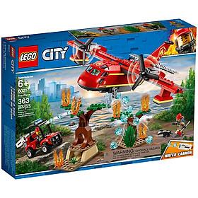 Đồ Chơi Lắp Ghép Máy Bay Cứu Hỏa Rừng Lego City 60217