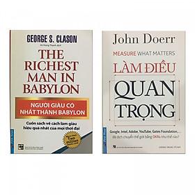 Combo Làm điều quan trọng & Người giàu có nhất thành Babylon