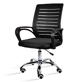 BG Ghế lưới làm việc ghế xoay văn phòng cao cấp mới 2020 Mẫu B200 BLACK (hàng nhập khẩu)