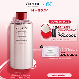 Nước cân bằng Shiseido Revitalizing Treatment Softener 150ml (Refill)