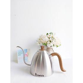 Ấm chuyên dụng pha chế Cà Phê nhập khẩu thương hiệu Brewista  - Artisan Gooseneck Stovetop Kettle dung tích 700ml