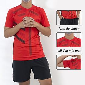 Bộ quần áo thể thao nam vải thun mềm siêu mát loại đồ bộ thể thao thun lạnh mặt thoải mái BTT 01