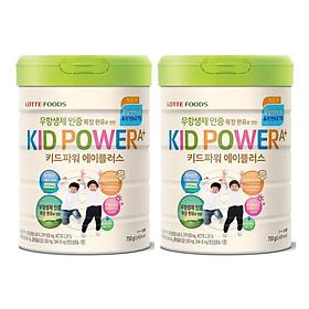Biểu đồ lịch sử biến động giá bán Hai hộp Sữa Bột Tăng Chiều Cao Kid Power A+