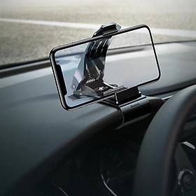 Giá đỡ điện thoại dạng kẹp hiệu Baseus Mouth Car Mount dùngtrên xe hơi, ô tô cho iPhone, Samsung, Oppo, Xiaomi, Huawei, Nokia (chế độ xoay 360 độ, cực kỳ chắn chắn, vật liệu cao cấp) - Hàng nhập khẩu