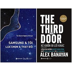 Combo Sách : SamSung & Tôi - Lựa Chọn & Thay Đổi + Kẻ Khôn Đi Lối Khác - Lối Đi Của Những Người Thành Công Nhờ Tư Duy Phá Cách Và Sự Tinh Quái