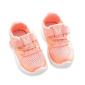 Giày thể thao chữ M nhũ năng động cho bé trai và bé gái từ 1 – 6 tuổi – T4