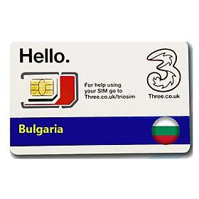 Sim Du lịch Bun Ga Ri - Bulgaria 4g tốc độ cao