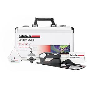 Bộ cân màu màn hình máy tính Datacolor SpyderX Studio - Hàng Chính Hãng