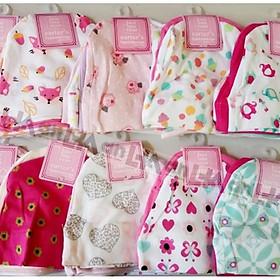 Set 5 mũ sơ sinh vải cotton mềm min cho bé