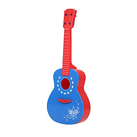 Guitar Toy Funny Ukulele Musical Instrument for Children Kids School Play Game Education Christmas Birthday Gift
