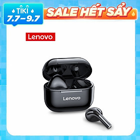 Lenovo LP40 TWS Headphone True Wireless BT Earbuds Semi-in-ear Sports Earbuds with 13mm Moving Coil Long Endurance Time