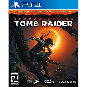 Đĩa Game Ps4: Shadow Of Tomb Raider SteelBook Edition - Hàng Nhập Khẩu