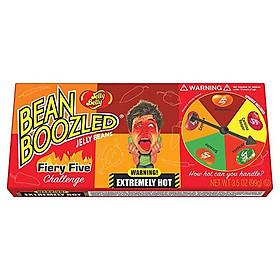 Kẹo thối Bean Boozled phiên bản Siêu Cay Fiery Five hộp vòng xoay 100gr