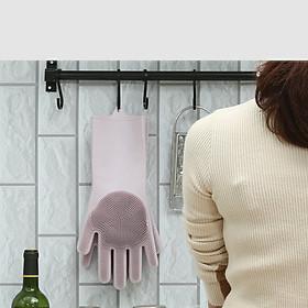 Găng tay chuyên dụng rửa bát có gai