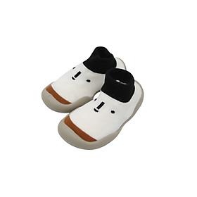 Giày bún tập đi dạng tất cao cổ đế cao su chống trượt cho bé trai và gái -  phong cách Hàn Quốc Comfybaby GB002