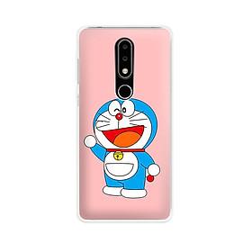 Ốp lưng dẻo cho điện thoại Nokia 6.1 plus/X6 - 01171 7862 DRM06 - Doremon - Hàng Chính Hãng
