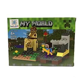 Bộ Xếp Hình - My World - 33275 - LK52 - Mẫu 4