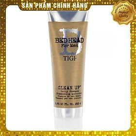Dầu gội TIGI Bed Head B for men Clean up Daily shampoo hương bạc Hà cho Nam cao cấp Mỹ 250ml - Hàng chính hãng