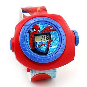 Đồng hồ CHIẾU 20 HÌNH SIÊU NHÂN  cho bé trai