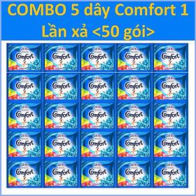COMBO 5 dây Nước Xả Vải Comfort 1 lần xả