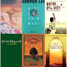 Combo Sách - 6 Cuốn: Oscar Và Bà Báo Hồng + Giết Con Chim Nhại + Người Đua Diều + Bắt Trẻ Đồng Xanh + Cây Cam Ngọt Của Tôi + Ngàn Mặt Trời Rực Rỡ