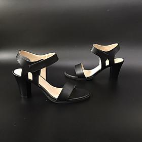 [ Shop giày somina ] Sandal quai ngang 7cm MT224