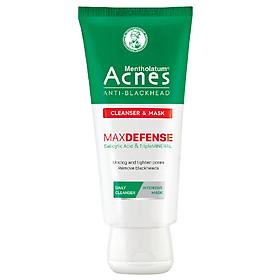 Kem rửa mặt và Mặt nạ ngăn ngừa mụn đầu đen Acnes Anti-Blackhead Cleanser & Mask 100g