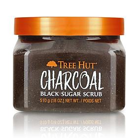 Tẩy tế bào chết cơ thể Tree Hut Charcoal Black Sugar Scrub