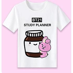 Áo thun BTS COOKY BT21 Study Planner