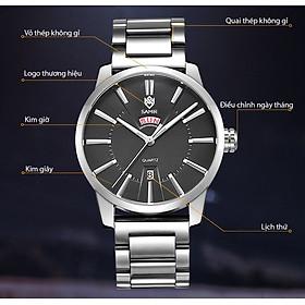 Đồng hồ nam SAMIR hiển thị lịch ngày cao cấp – Trẻ trung – Năng động