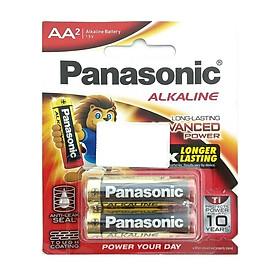 Vỉ 2 Pin Panasonic 2A
