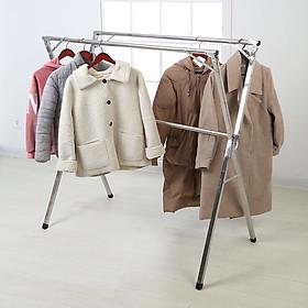 Giá phơi quần áo gấp gọn NiNDA ND-215