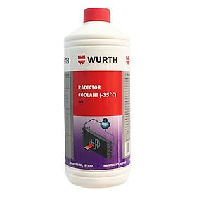 Nước Làm Mát Động Cơ Wurth Radiator Coolant 0892350001 (1L)