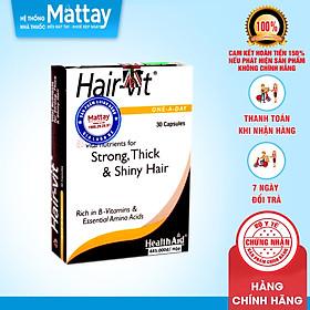 Hair Vit - HealthAid - Hộp 30 Viên - Giúp Ngăn Ngừa Rụng Tóc, Kích Thích Mọc Tóc
