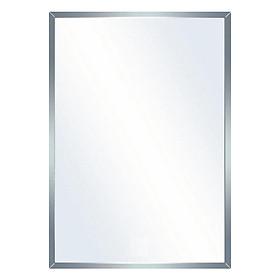 Gương phòng tắm kính cường lực 5mm loại tốt (45 x 60 cm)