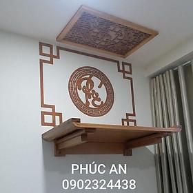 Địa điểm cửa hàng sản xuất bán bàn thờ treo tường đẹp size 80-48, giao đủ như hình