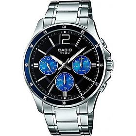 Đồng hồ nam dây thép không gỉ Casio MTP-1374D-2AVDF
