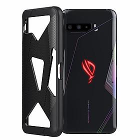 Ốp lưng cho Rog Phone 3 đen chống sốc