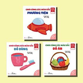 Sách Ehon Cho Bé - 03 Cuốn Nhận Biết - Chơi Cùng Các Màu Sắc