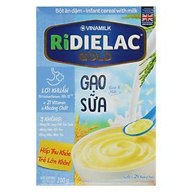 Bột Ăn Dặm Vinamilk Ridielac Gạo Sữa (200g)