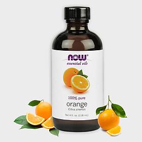 Tinh Dầu Now Food Essential Oils Orange 118ml