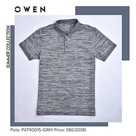 OWEN - Áo Polo nam cộc tay Owen 90015 - Áo thun có cổ nam